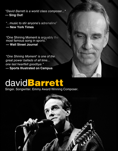 David Barrett One Sheet