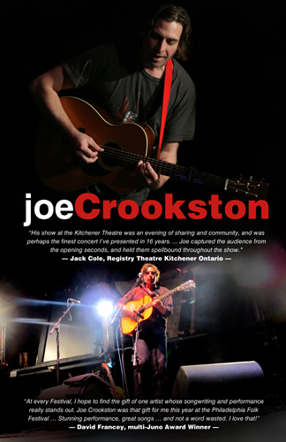 Joe Crookston Display Sign