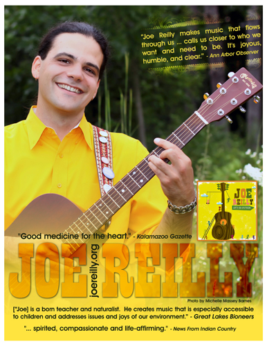 Joe Reilly One Sheet side 1